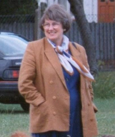 Mrs Erskine Head teacher 1984-2001