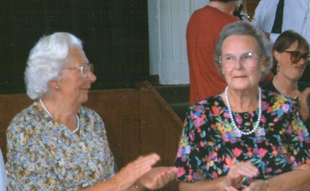 Miss Keay & Mrs Rowlands Head teachers 1968-77