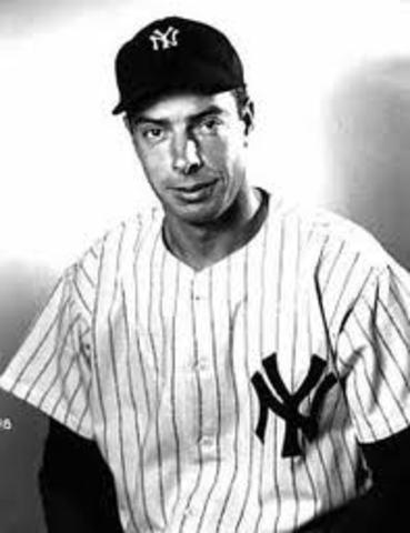 Joe DIMaggio , Famous baseball player