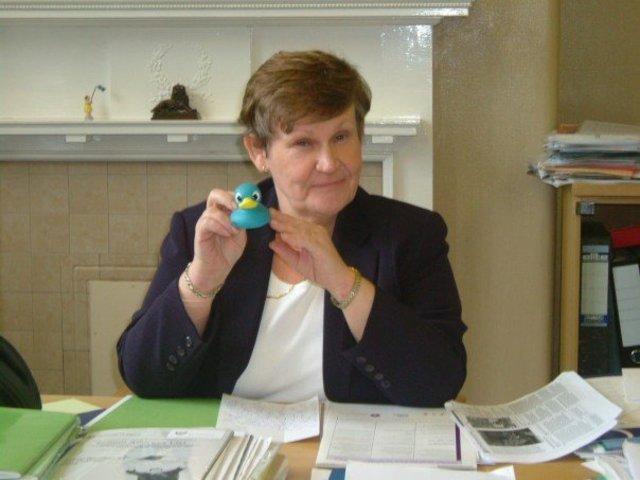 Mrs G Robinson Head teacher 2001-2013