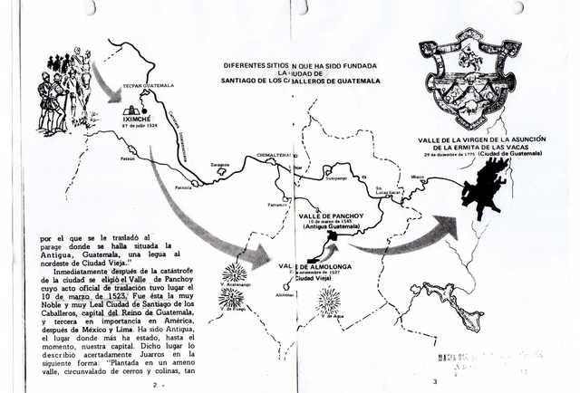 Traslado de Santiago de los Caballeros de Guatemala