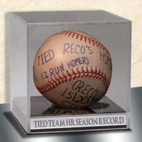 Seventh Career Homerun (Tied Team Homerun Record)