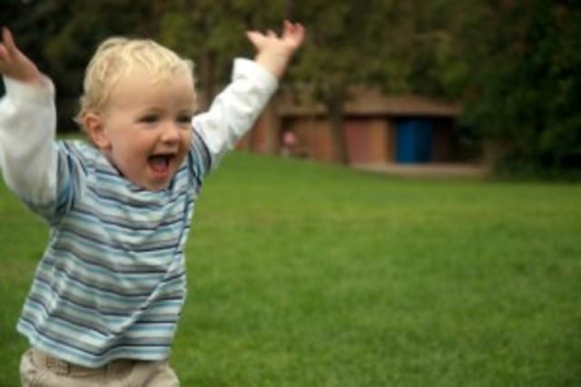 Toddler- Running