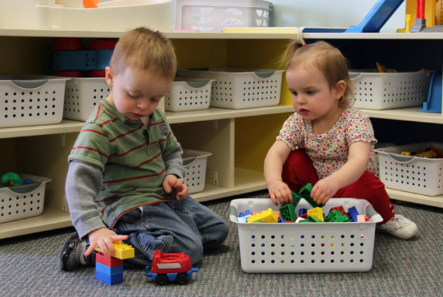 Toddler- Parallel Play