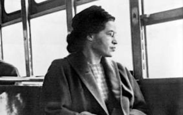 Rosa Parks marks the Beginning