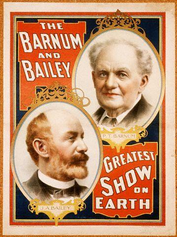 Theatres, Minstrel Shows, Circus