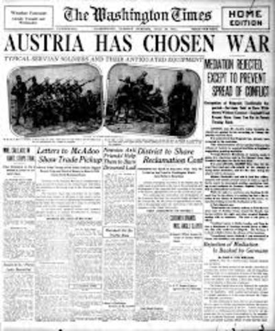 Austria Declares War!