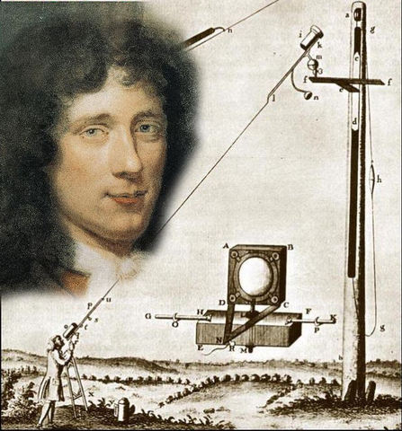 Christiaan Huygens notices 24 hour rotation of Mars