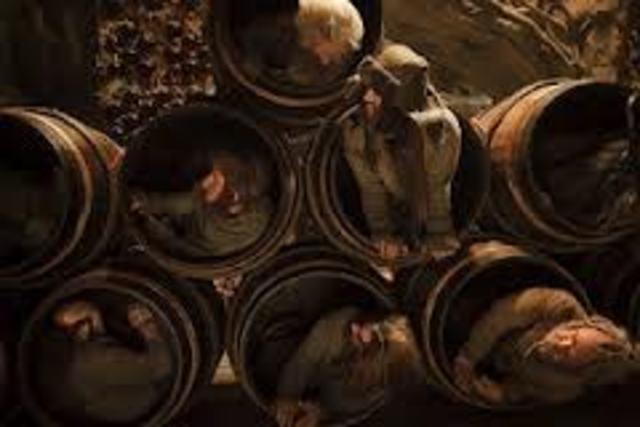 Barrel's of wine
