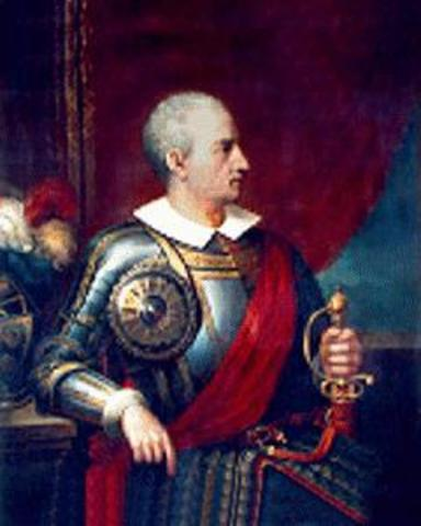 Almagro recibe la corona Española