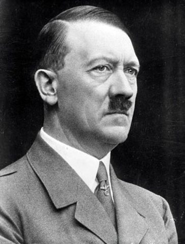 Hitler's actions