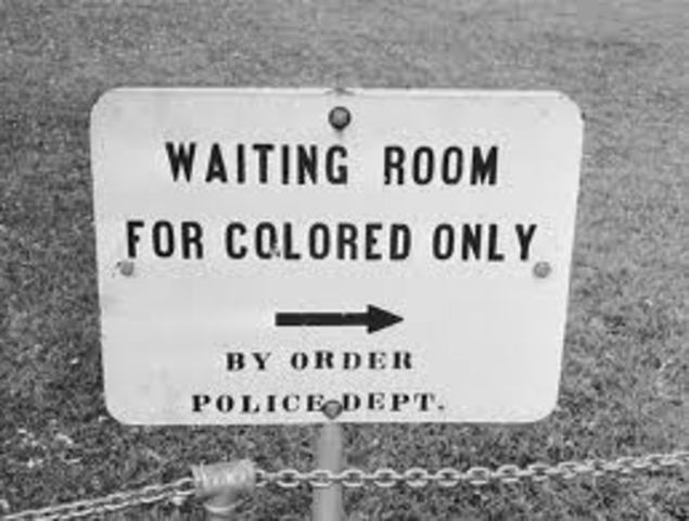 Jim Crow Law changed in public transportation