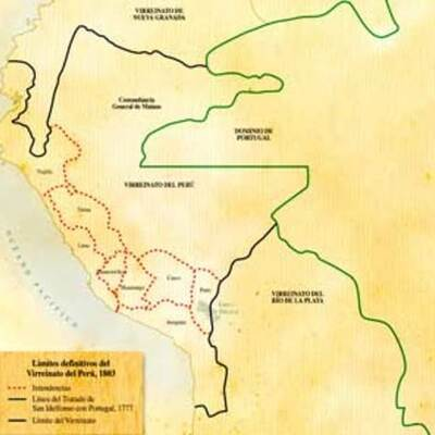 Literatura peruana de la conquista y colonia timeline