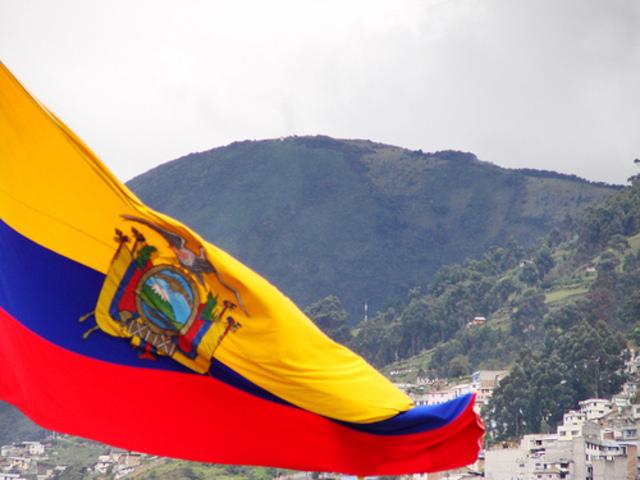 Declaracion de independencia de Ecuador.