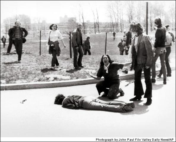 Kent State University Violence