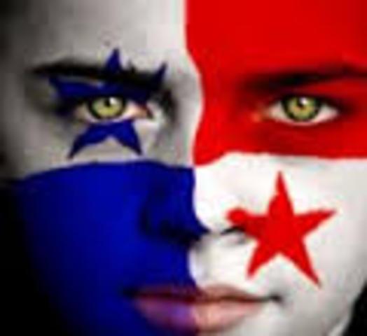 La independencia de Panamá.