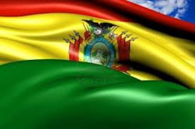 Declaracion de independencia de Bolivia.