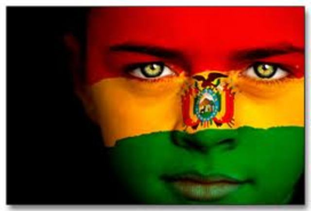 La independencia de Bolivia.