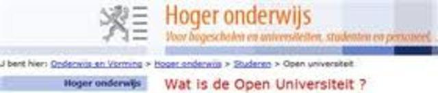 Studiecentrum Open Hoger Onderwijs - Bélgica
