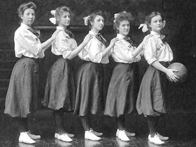 1892:Women Introduced to Basketball Part 1