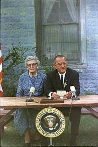 LBJ Elemenatry and Secondary Education Act