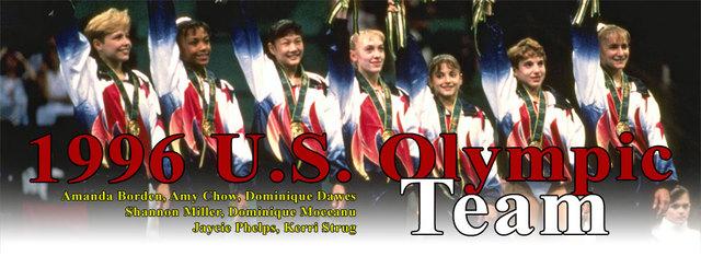 1996: Olympics Gymnastics Team Part 1
