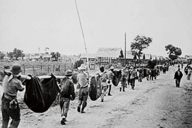 1942 Philippines fall to Japanese – Bataan Death March