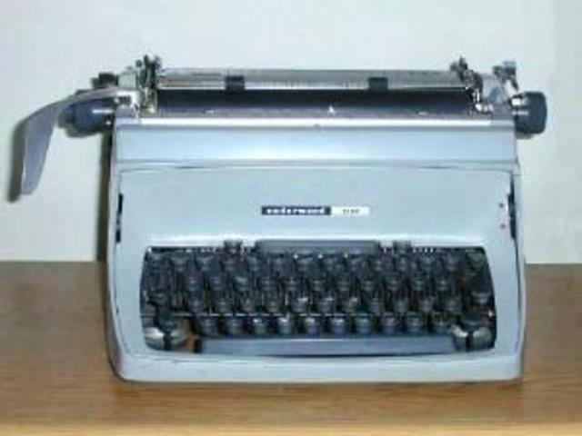 The Typewriter - Part I