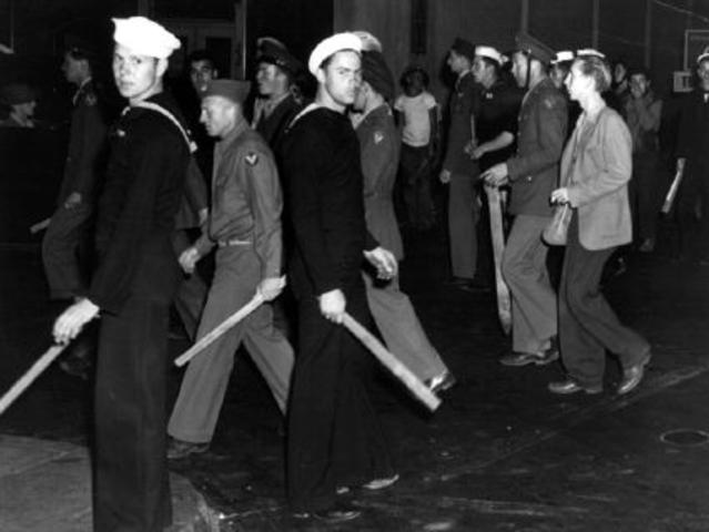 1943 Zoot Suit Riots – Los Angeles, CA
