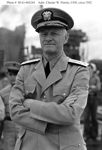 Chester NImitz and the Battle of Midway