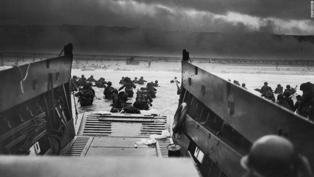 1944 June 6 - D-Day invasion of France at Normandy by Allies
