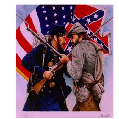 Important Battles of the Civil War timeline