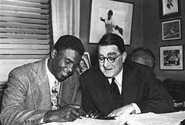 Jackie Robinson Signs