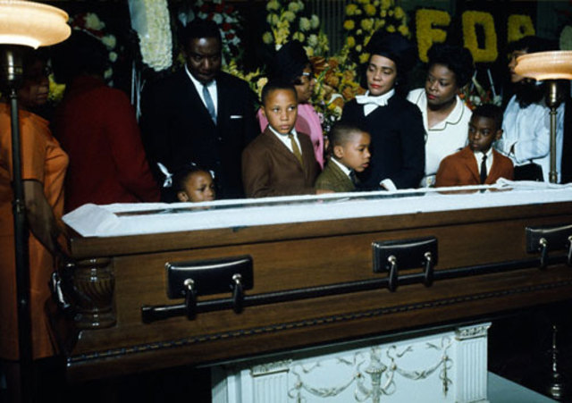 Martin Luther King, Jr.'s funeral.