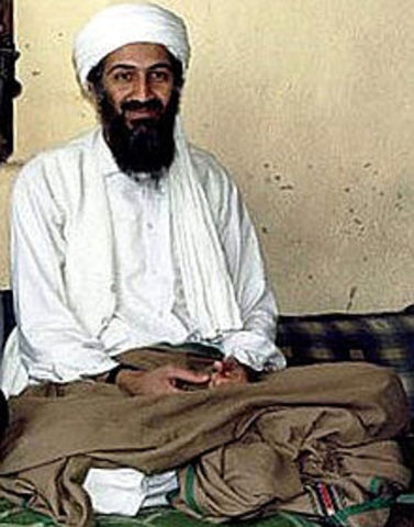 U.S. President Barack Obama announces that Osama bin Laden, the founder and leader of the militant group Al-Qaeda, has been killed