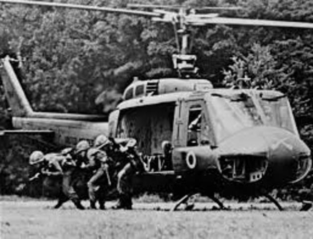 Vietcong Forces Withdraw