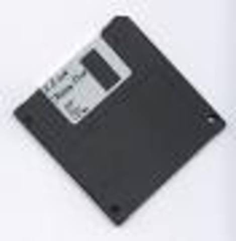 Floppy disk is made