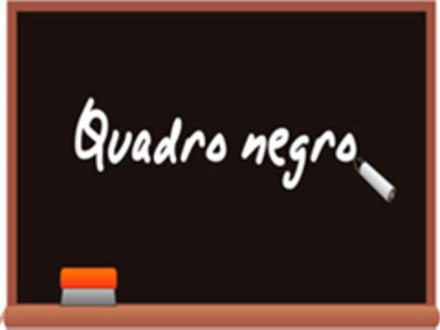 Surgimento do Quadro Negro (Séc XVII)
