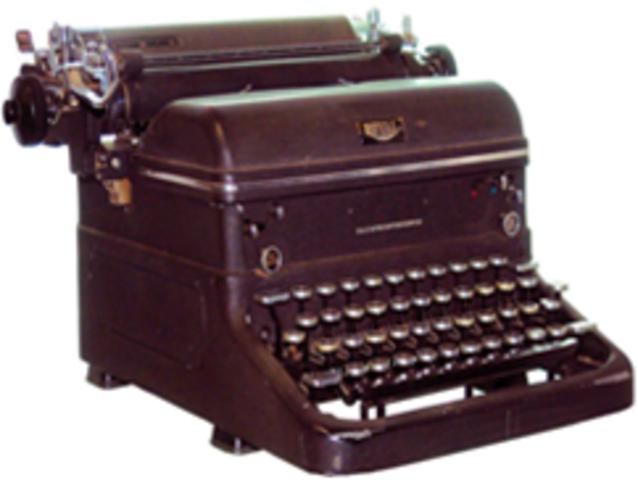 Criação da Máquina de Escrever