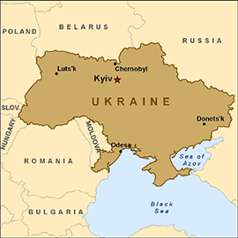 Ukraine Lap Book - Grade 3ME