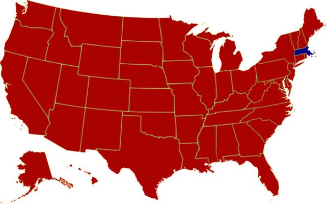 Election of 1972: Nixon (R) V George McGovern (D)