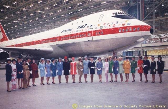 Boeing 747 Takes Flight