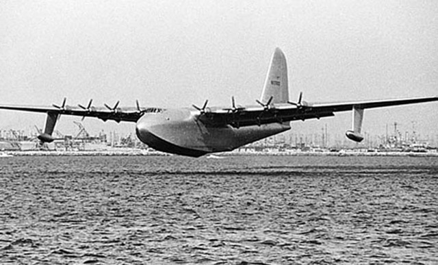 Spruce Goose Lifts Off