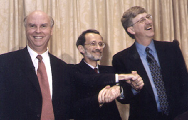 Francis Collins in Human Genome Project