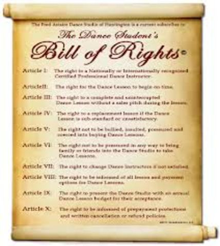 Bill of Rights (Part1)