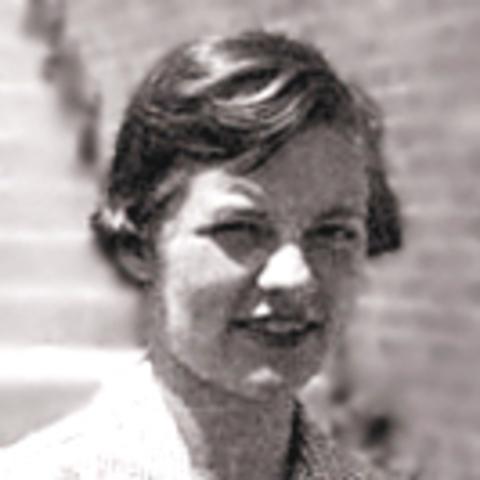 Martha Chase with Hershey