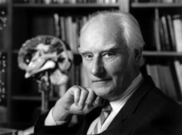 Francis Crick with Watson