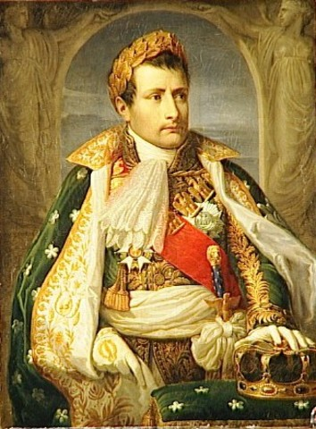 Napoleon is crowned king of Italy in Milan