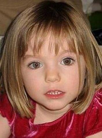 British child Madeleine McCann disappears from an apartment in Praia da Luz, Portugal.