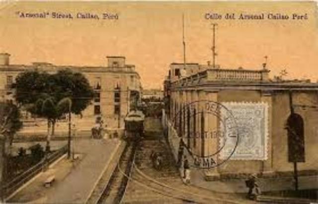 Nombrmiento de José De La Mar a inspector general y jefe de la plaza del Callao